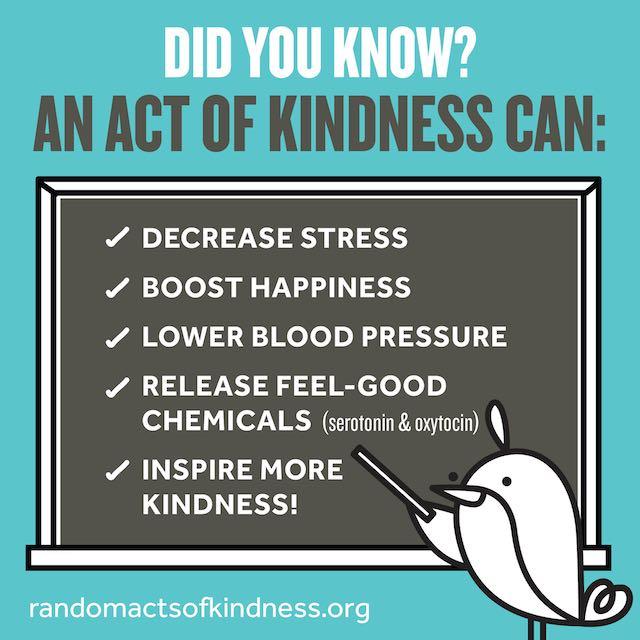 Kindness health benefits - RAK Foundation release