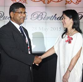 Vice Consul Victoria Buenaventura
