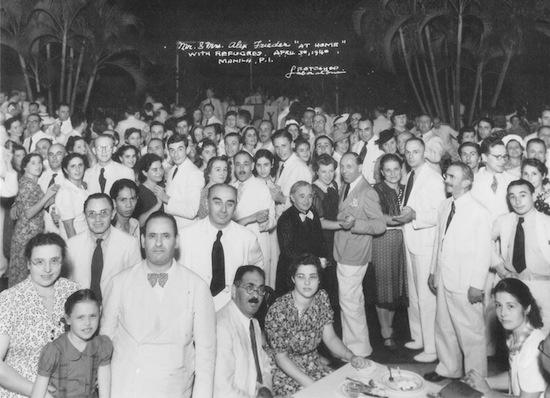 Refugees Attend Dinner at Frieders Home – April 30 1940