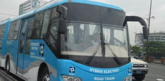 Hybrid Electric Road Train
