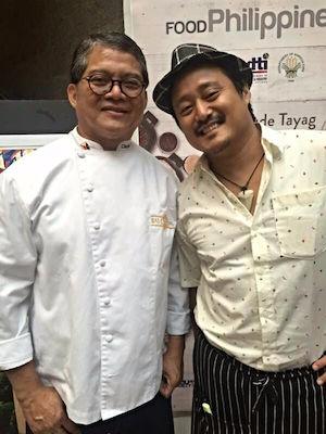 Claude Tayag and Enzo Lim