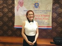 AiAi De Las Alas is Papal awardee for church work
