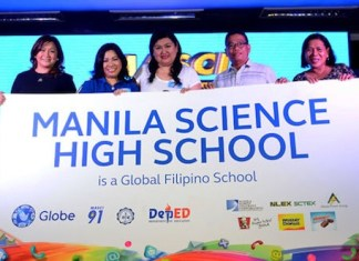 Globe Telecom and Manila Science High School (MaSci) Silver Jubilarians