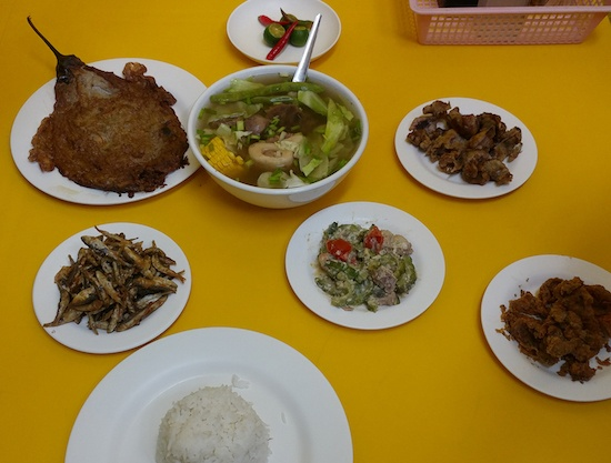 Pinoy local food