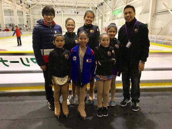 The Philippine contingent to Skate Japan 2017