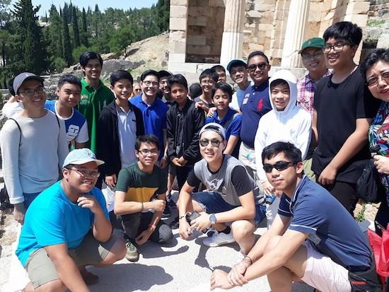 LSGH Delegation at Delphi