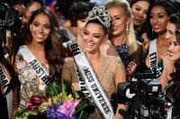 Miss Universe Demi-Leigh Nel-Peters Arrives in PH