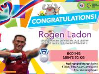 Boxer Rogen Ladon brings home Silver at 18th Asiad, Philippines medal tally 21