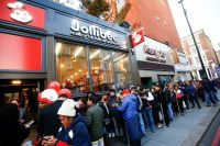 UK papers front pages report Jollibee London's blockbuster opening