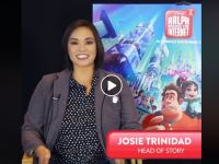 Wreck It Ralph 2's head of story Josie Trinidad is an animator and voice actor at Disney