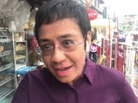 Times Square's iconic New Year's Eve celebration spotlights Maria Ressa, journalists & press freedom