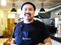 Chef Budgie Montoya's Sarap Pinoy Lechon & BBQ certified bestsellers in London