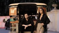 "Netflix star Shay Mitchell shows off iconic Pinoy jeepney to ""You"" co-star Penn Badgley"