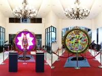Miss Universe Catriona Gray's LuzViMinda costume tours PHL museums this 2019