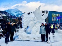 Filipino-Canadian Team Baisas wins snow sculpting tilt in Canada