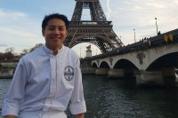 James Diño overcomes poverty with education to become a French chef for Alain Ducasse