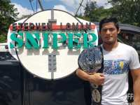 "Brave CF MMA champion Stephen ""The Sniper"" Loman defends title in Manila homecoming"