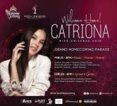 Philippines to welcome Miss Universe Catriona Gray with festivities fit for Filipino Pride queen