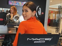 Maine Mendoza returns to MAC in New York for new cosmetic collaboration