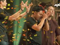 Shadow artist Philip Galit receives Golden Buzzer from Asia's Got Talent hosts Alan & Justin