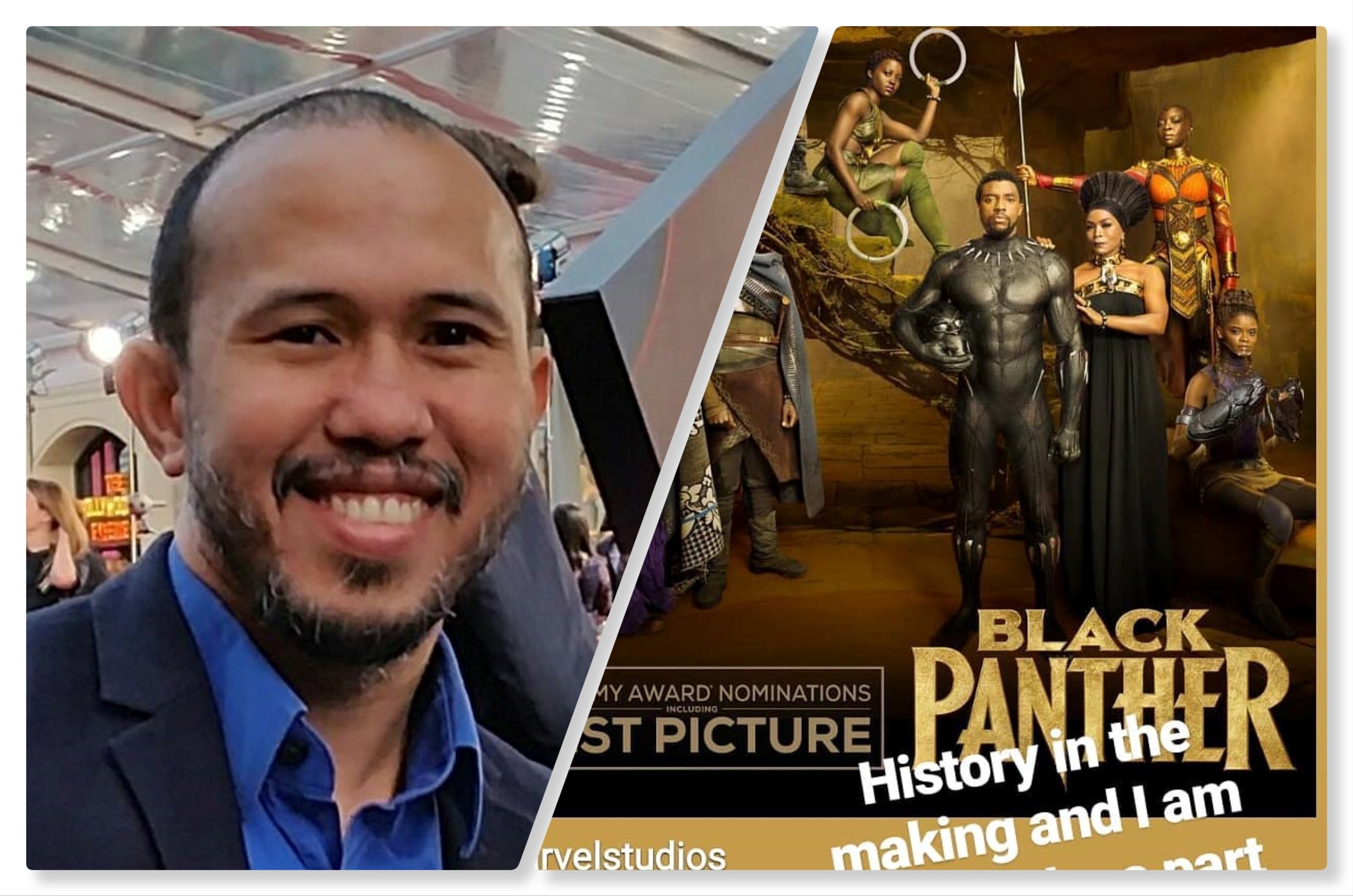 Oscars Big Winner Black Panther Has A Pinoy Visual Designer Anthony Francisco Good News Pilipinas