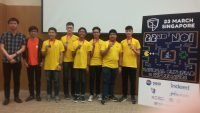 6 young Filipino programmers win medals in Singapore's National Olympiad in Informatics