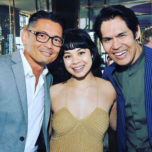 Clint Ramos with fellow Filipino Tony nominees