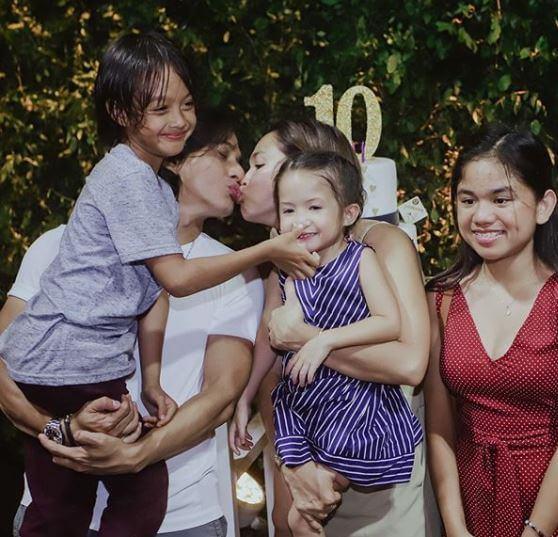 Judy Ann Santos Ryan Agoncillo kids