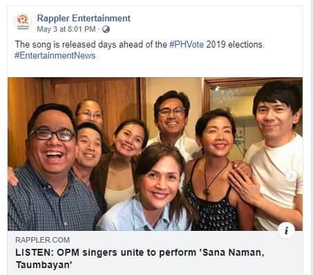 Rappler OPM singers