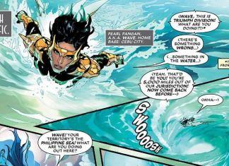 Filipino designed Marvel Filipina superhero Wave