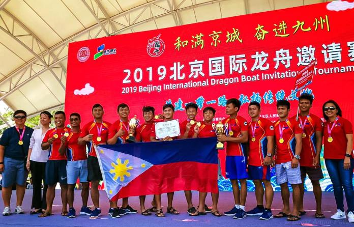 Team Philippines Beijing International Dragon Boat Tournament