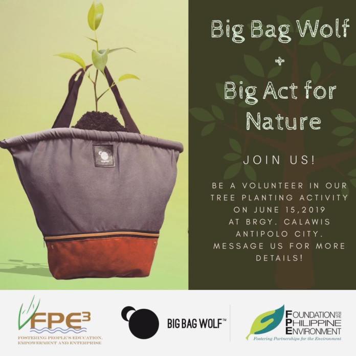 Big Bag Wolf Reforestation
