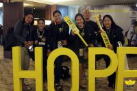 Hope Summit gathers Yellow Boat volunteers to make more ferries for schoolchildren