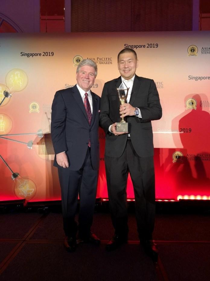 SM Supermalls Grand Stevie Award