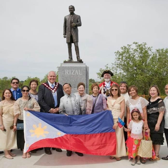 Jose Rizal Canada Luneta Park