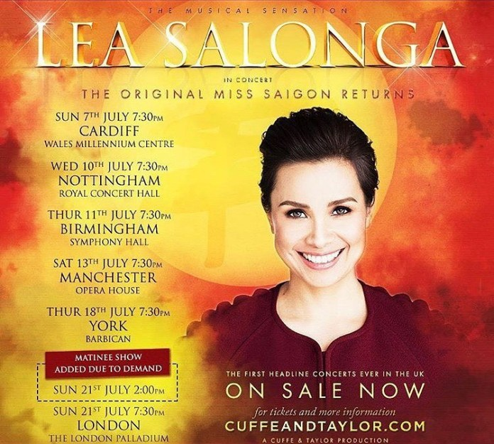 Lea Salonga exclusive concert