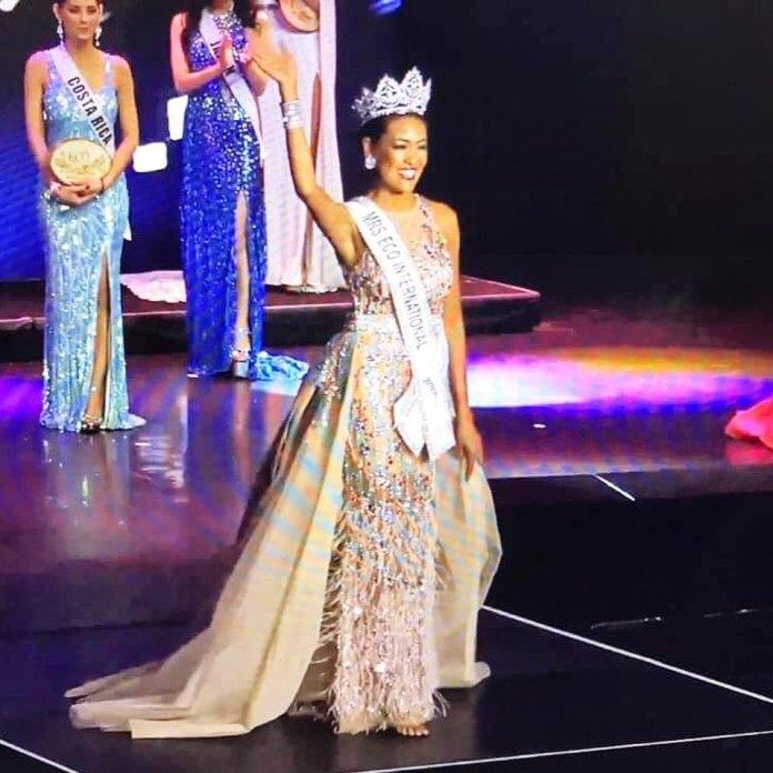 Shiela DeForest Mrs Eco International Crown