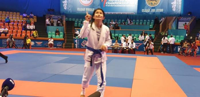 Jiu Jitsu Meggie Ochoa