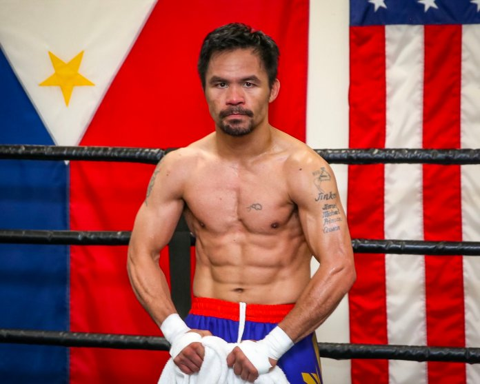 Manny Pacquiao Welterweight Super Championship