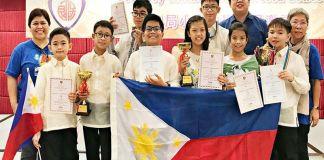 Filipino Math wizards