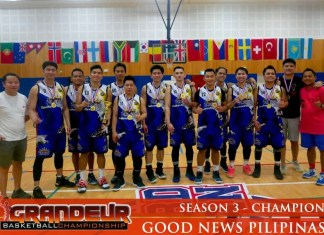Good News Pilipinas Basketball Team
