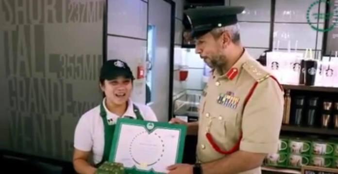 Filipina cafe manager Dubai