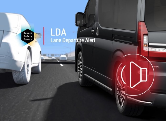 Toyota Safety Sense Driving