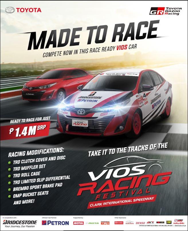 Motorsport Vios Race Cars