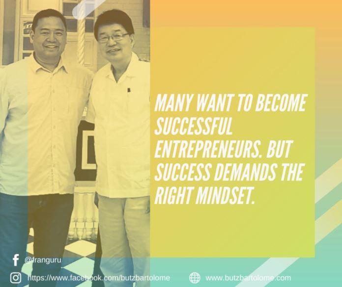 Start Business Entrepreneur Mindset