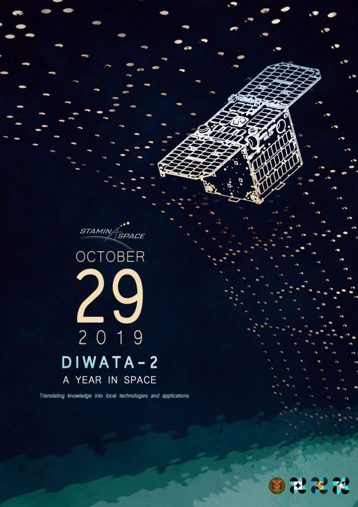 University Philippines Diwata-2 microsatellite