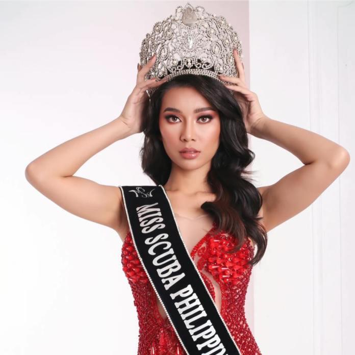 Flordeliz Mabao Miss Scuba International