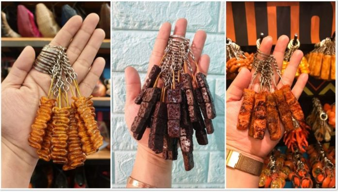 Pinoy Street Food keychain