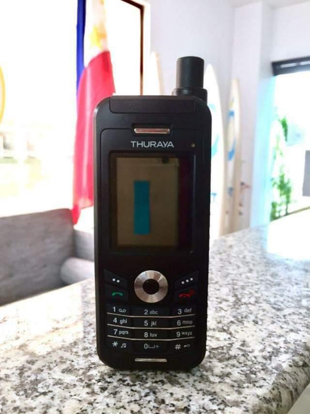 Emergency satellite phones