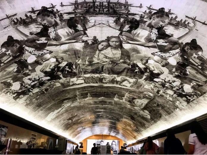 Makati underpass mural